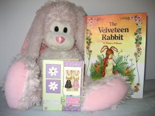 Best Friends Card Inspiration - The Pink Bunny & The Velveteen Rabbit