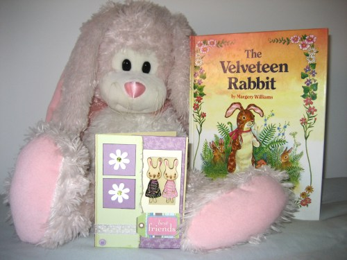 Best Friends Card Inspiration - The Pink Bunny & The Velveteen Rabbit