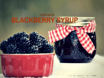 Homemade Blackberry Syrup