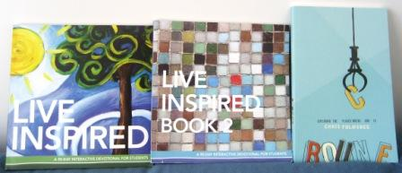 Live Inspired - 3 Book Giveaway at Create With Joy