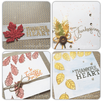 Fal & Thanksgiving Cards