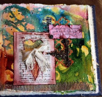 Art Journal Page - Lerusho