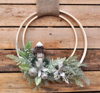 Woodland-Holiday-Embroidery-Hoop-Wreath