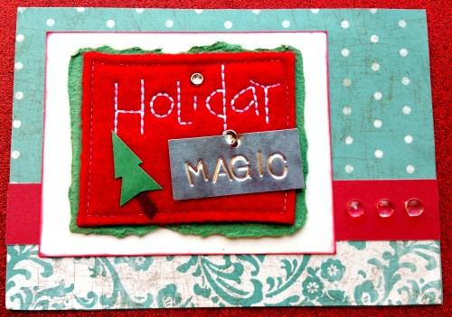 Holiday Magic Card