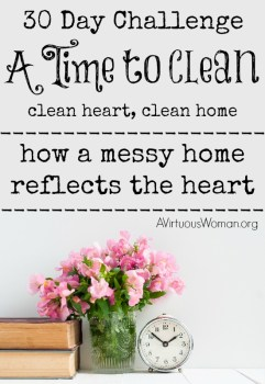 A Time To Clean - 30 Day Challenge