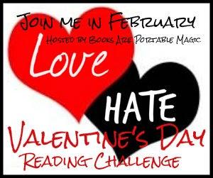 Love Hate Valentines Reading Challenge