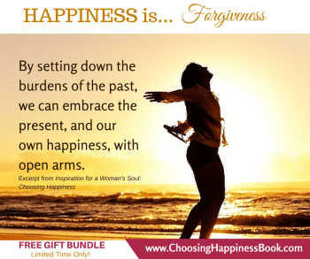 Release Burdens - Choose Happiness