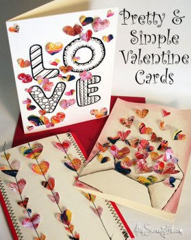 Simple Valentines Cards