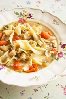 Chicken Veggie Noodle Soup