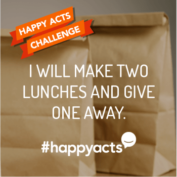 Happy Acts - 2 Lunches
