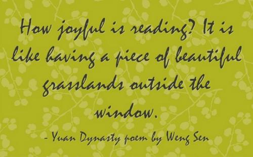 How Joyful Is Reading Quote