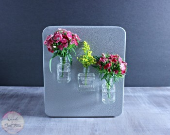 Magnetic Fridge Vases