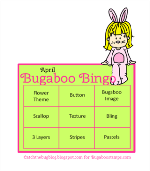 Catch The Bug April 2015 Bingo Challenge