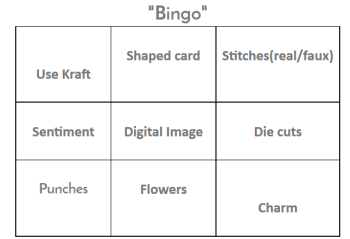Fab-N-Funky Bingo - April