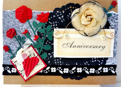 Anniversary Collage Card by Create With Joy
