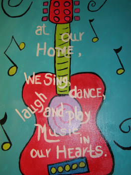 Deborah Owen's Guitar Art
