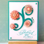 Swirls And Pearls - Thinking Of You Card - Feature Photo - Create With Joy