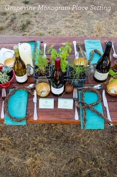 Fall Harvest Dinner Table