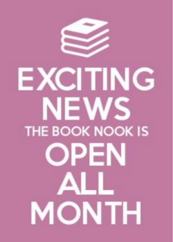 Book Nook - Open All Month