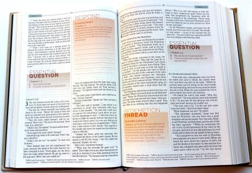 Essential Teen Study Bible - A Peek Inside 2