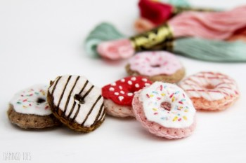 Embroidered Donuts