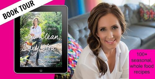 Go Clean Sexy You Book Tour Badge