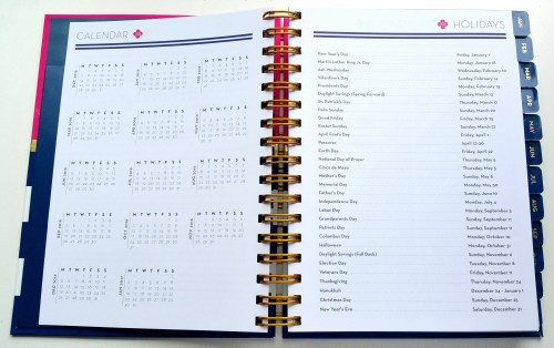 Anchored Press - Calendar And Holiday Pages - Flipped