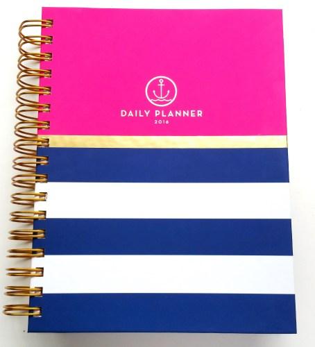 Anchored Press Planner - L