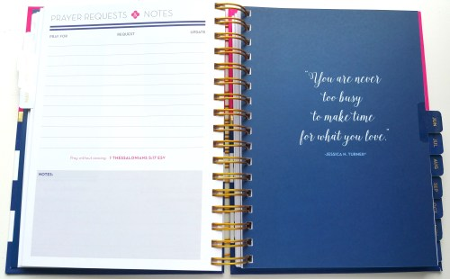 Anchored Press Prayer Planner - Prayer Requests And Notes - L