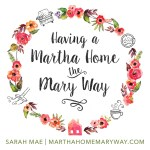 Having A Martha Home The Mary Way - Thumbnail
