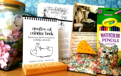 Creative Cat Coloring Book Giveaway at Create With Joy