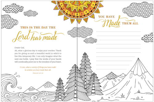 Gratitude A Prayer And Praise Coloring Journal Book Review