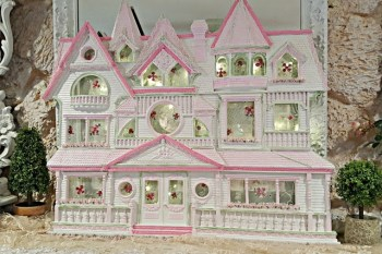 Victorian Pink Lady House