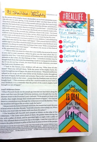 Being Brave - Real Life Single Page