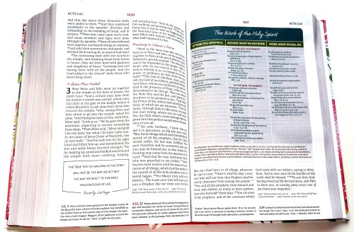 NKJV Womans Study Bible - Sample Page
