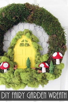 Fairy Garden Wreath