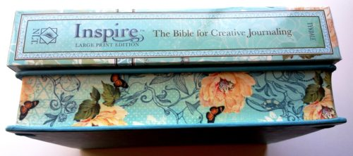 Inspire Bible - ForeEdge of Book L