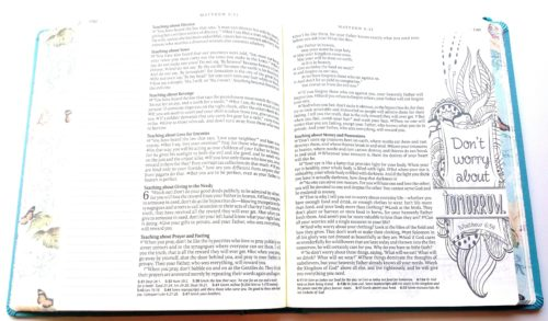 Inspire Bible - Matthew Verse Flipped