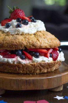 New England Strawberry Shortcake