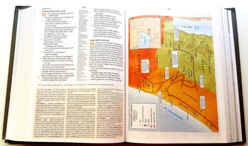 CSB Study Bible - Sample 3