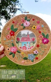 Embroidery In A Hoop