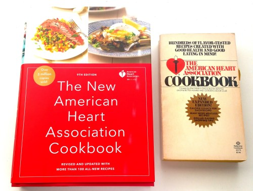 The American Heart Association Cookbooks - Now and Then