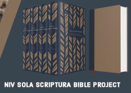NIV Sola Scriptura Bible Project