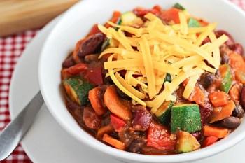 Veggie Loaded Chili