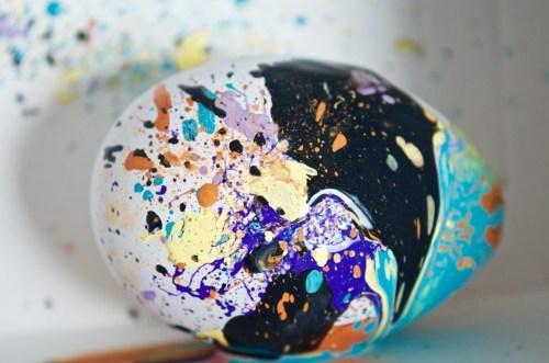 Creative Egg-Blowing Art