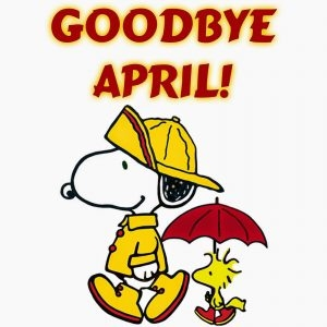 Goodbye April