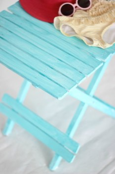DIY Beachy Painting