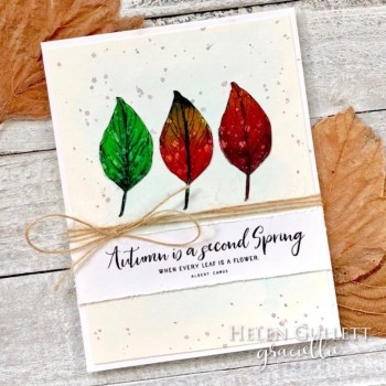 Autumn Is New Spring Card