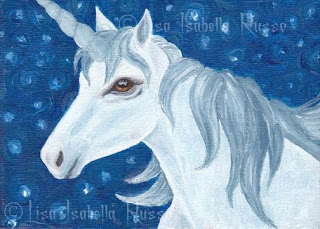 Snowy Night Unicorn