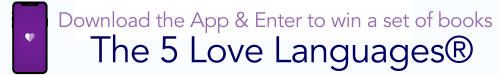 5 Languages Of Love Giveaway Banner